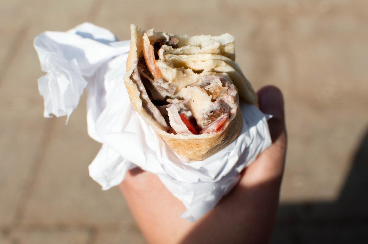 Shwarma Wrap, Shawerma Reem, Amman, Jordan