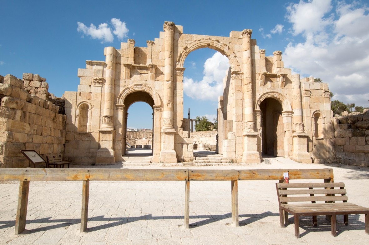 South Gate Entrance, Jerash, Jordan