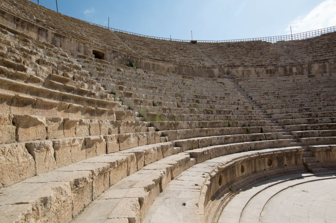 South Theatre, Jerash, Jordan