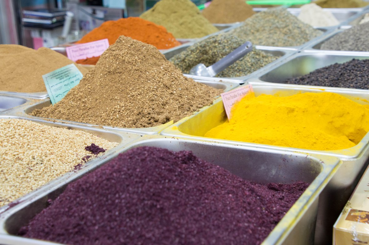 Spices And Herbs, Aqaba, Jordan