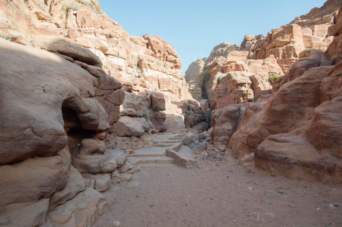 Stairs, Petra, Jordan