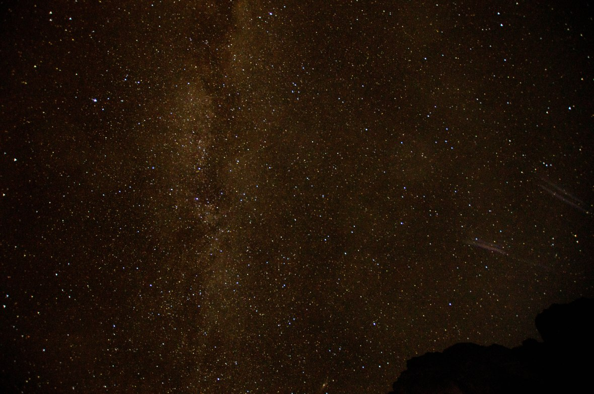 Stars In The Night Sky, Wadi Rum, Jordan