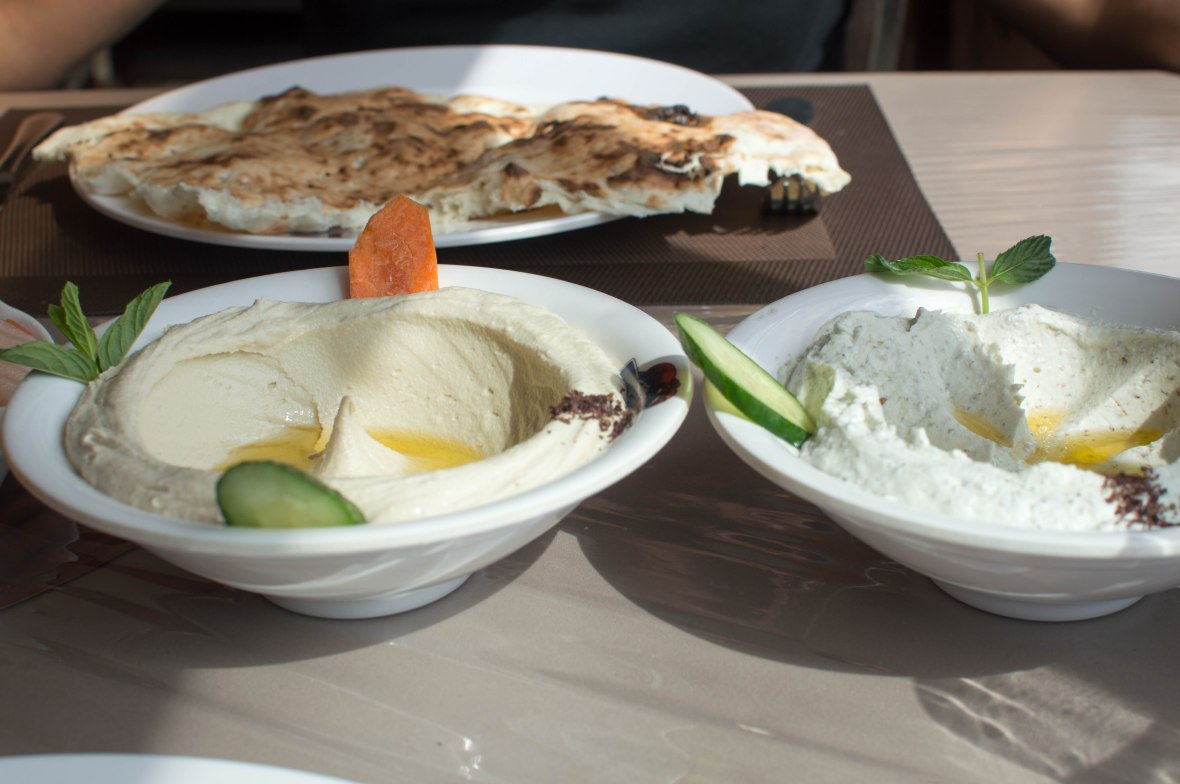 Starters, Roman Restaurant, Jerash, Jordan
