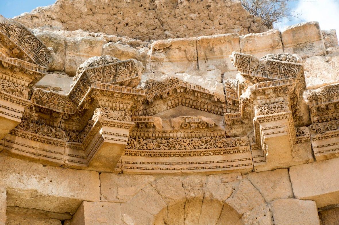 Stonework Details, Nymphaeum, Jerash, Jordan
