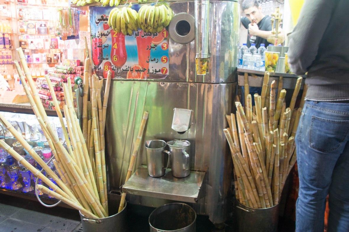 Sugar Cane Juice, Amman, Jordan