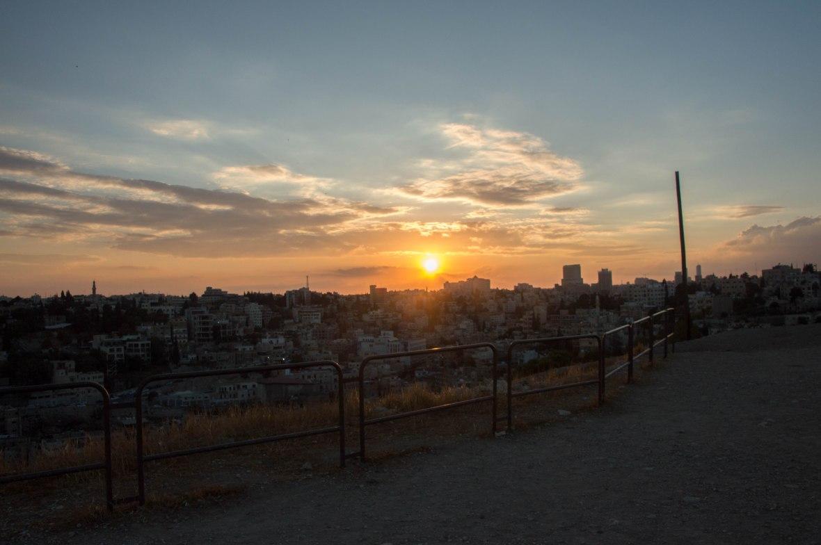 Sunset, Citadel, Amman, Jordan