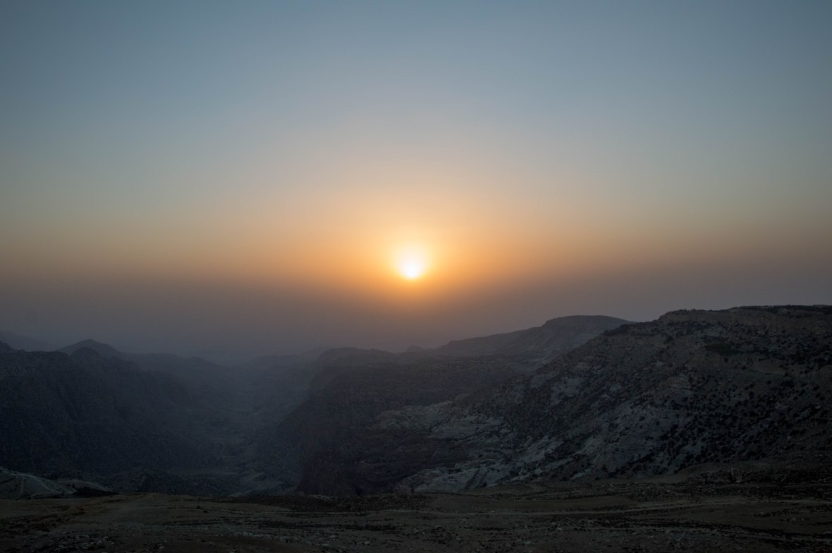 Sunset, Jordan Valley Highway, Jordan