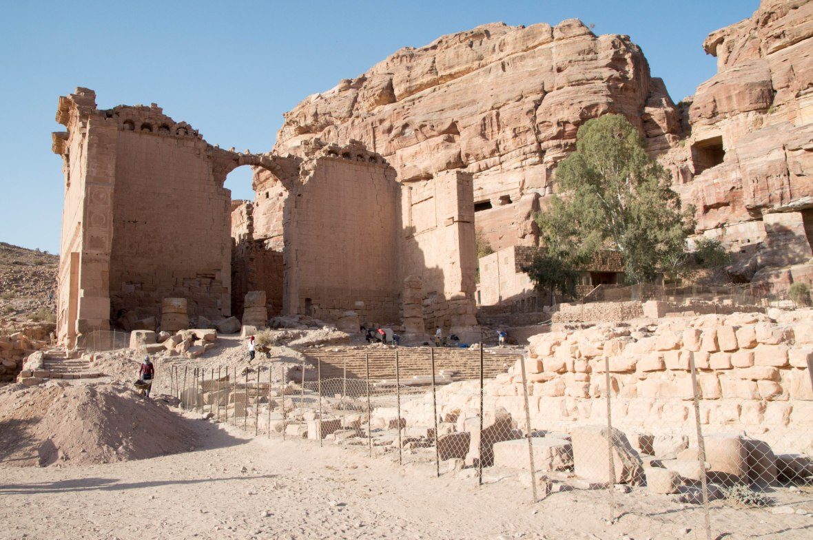 The Temple Of Qasr Al Bint, Petra, Jordan