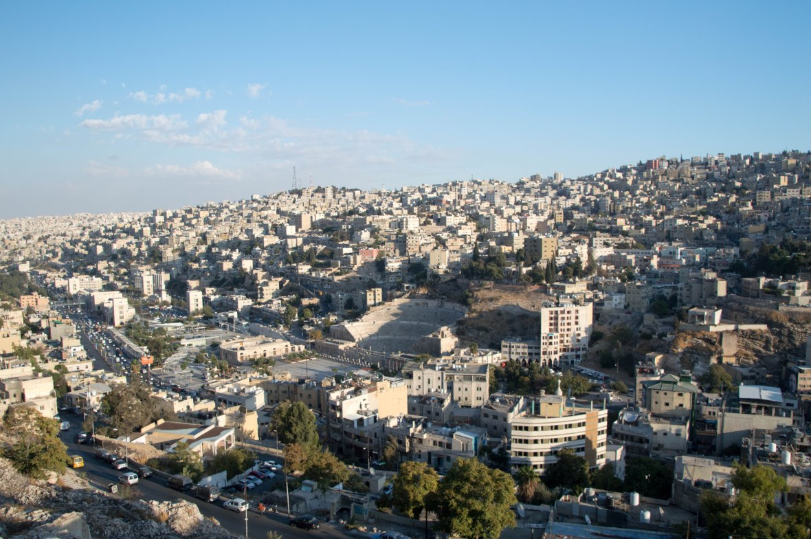 View From The Citadel, Amman, Jordan