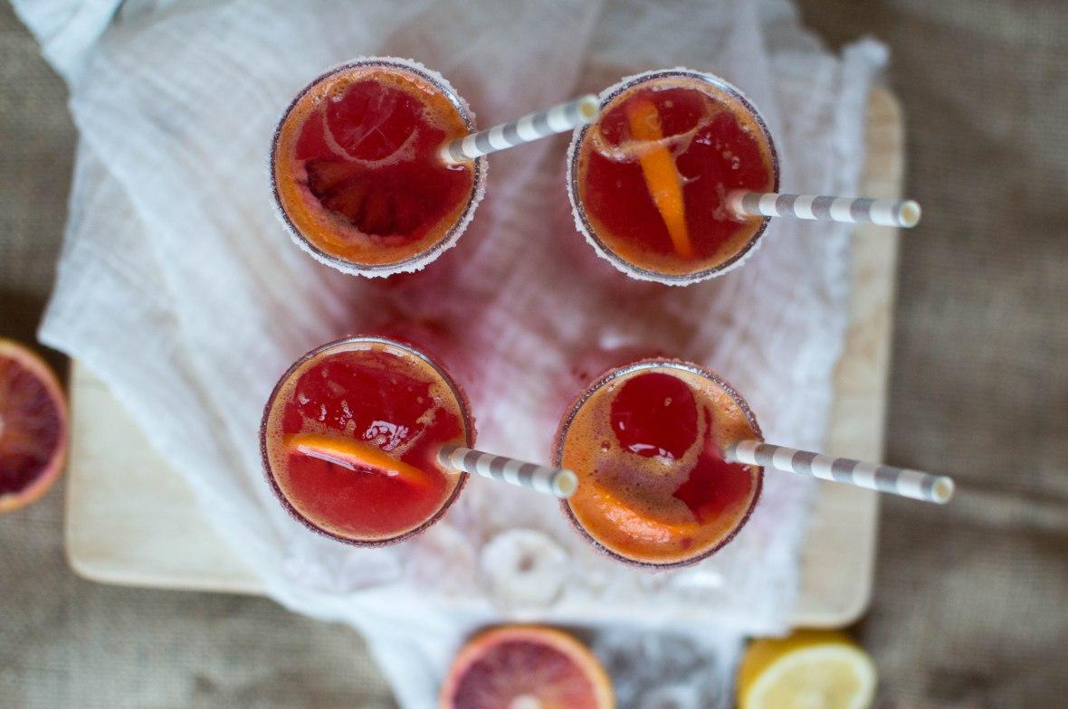 Blood Orange Drink - Kay's Kitchen