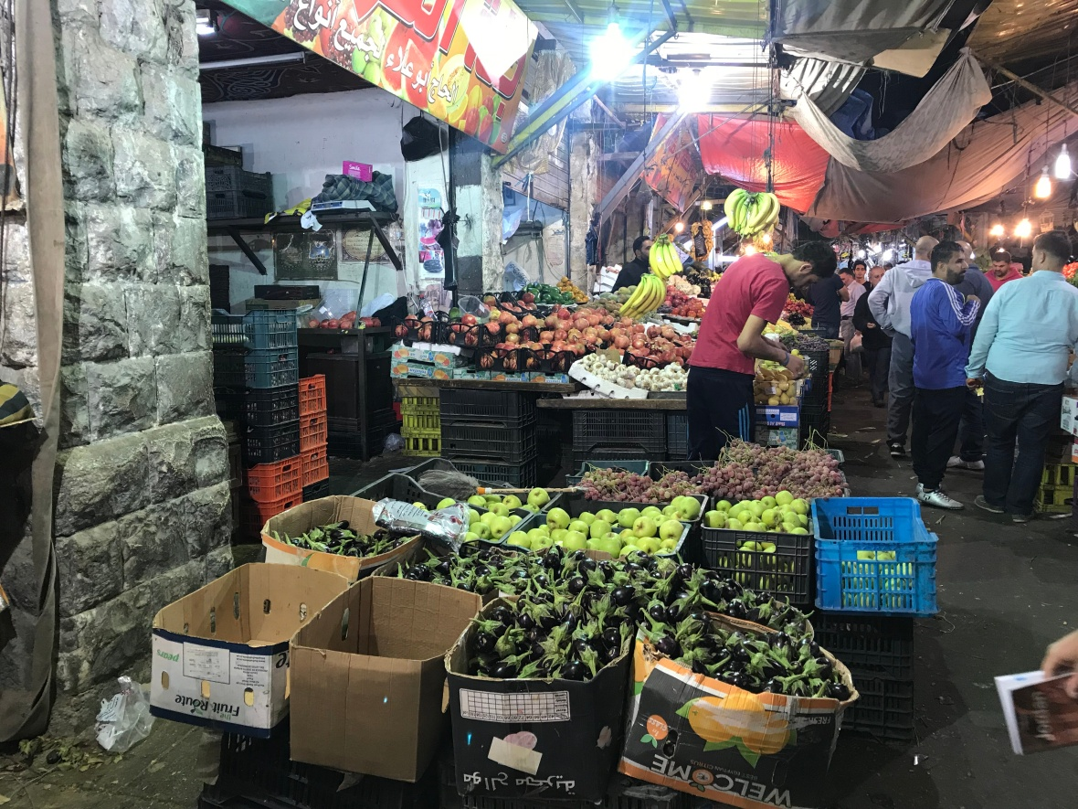 Fruit And Veg Market, Amman, Jordan