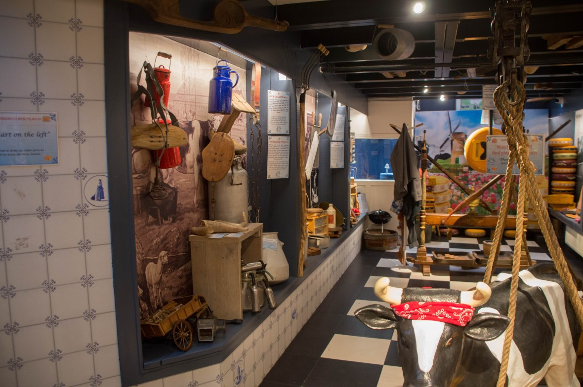 Cheese Making Exhibit, Amsterdam, Netherlands