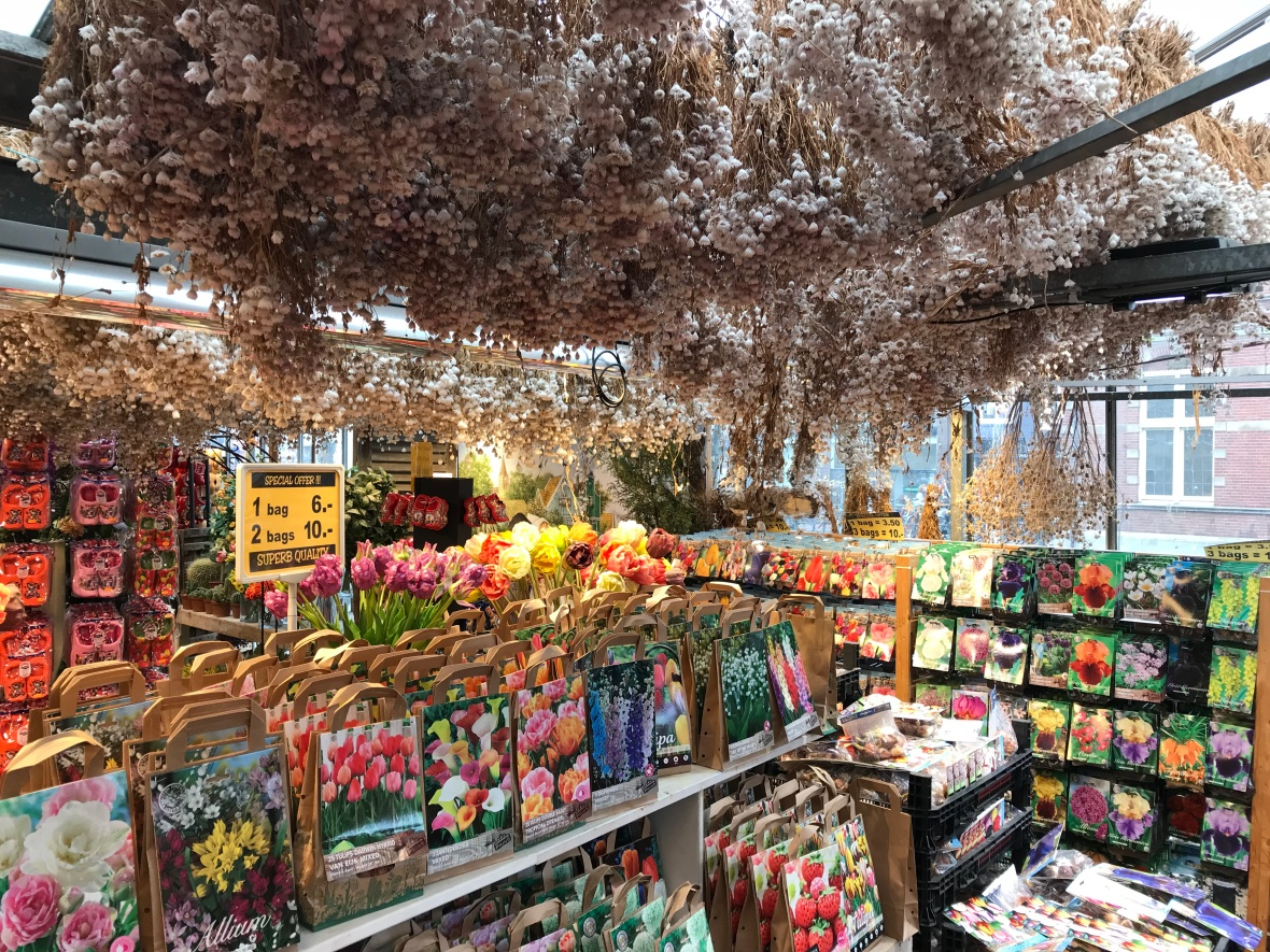 Flower Seeds And Bulbs, Bloemenmarkt, Flower Market, Amsterdam, Netherlands