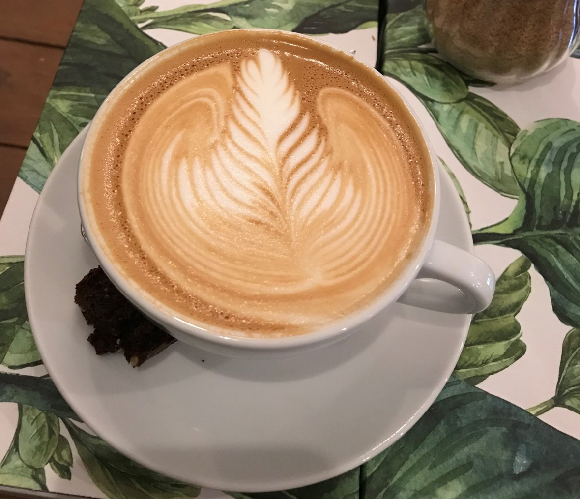 Latte At Screaming Beans, Amsterdam, Netherlands