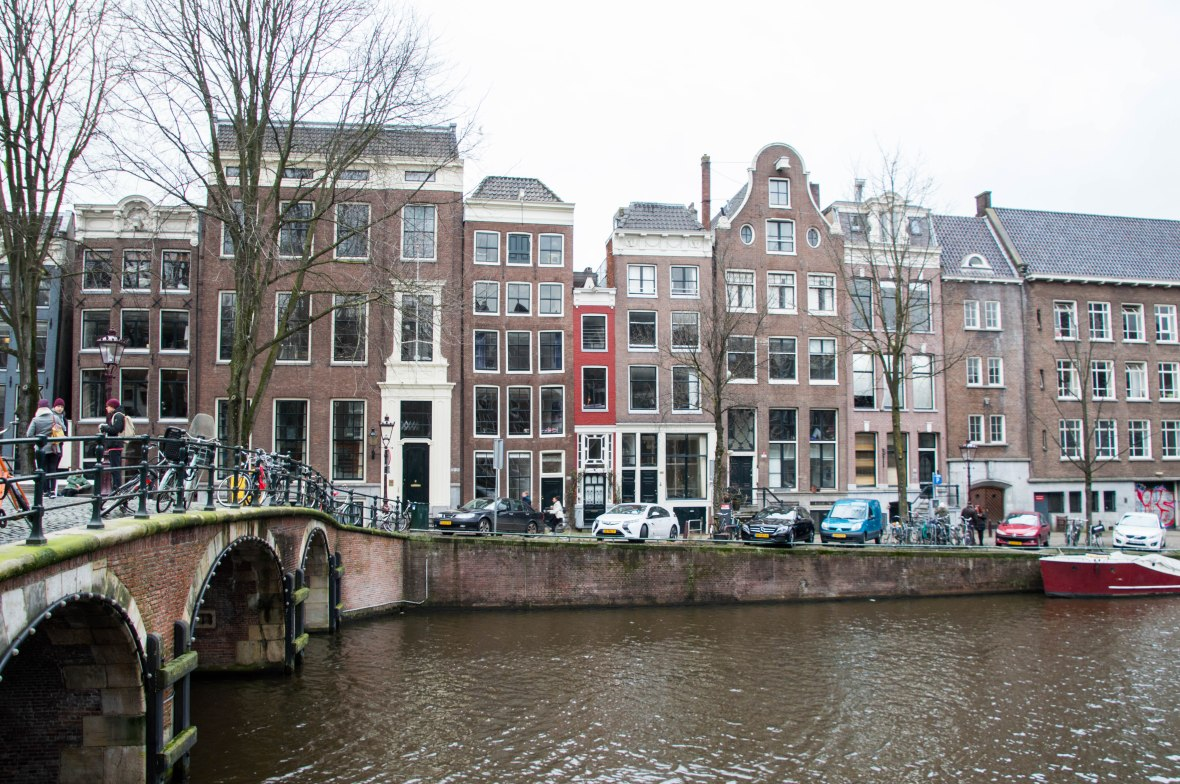Narrow Houses, Amsterdam, Netherlands