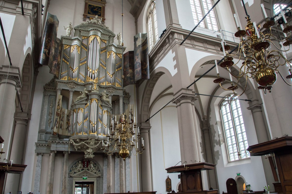 Organ, Westerkerk Church, Amsterdam, Netherlands