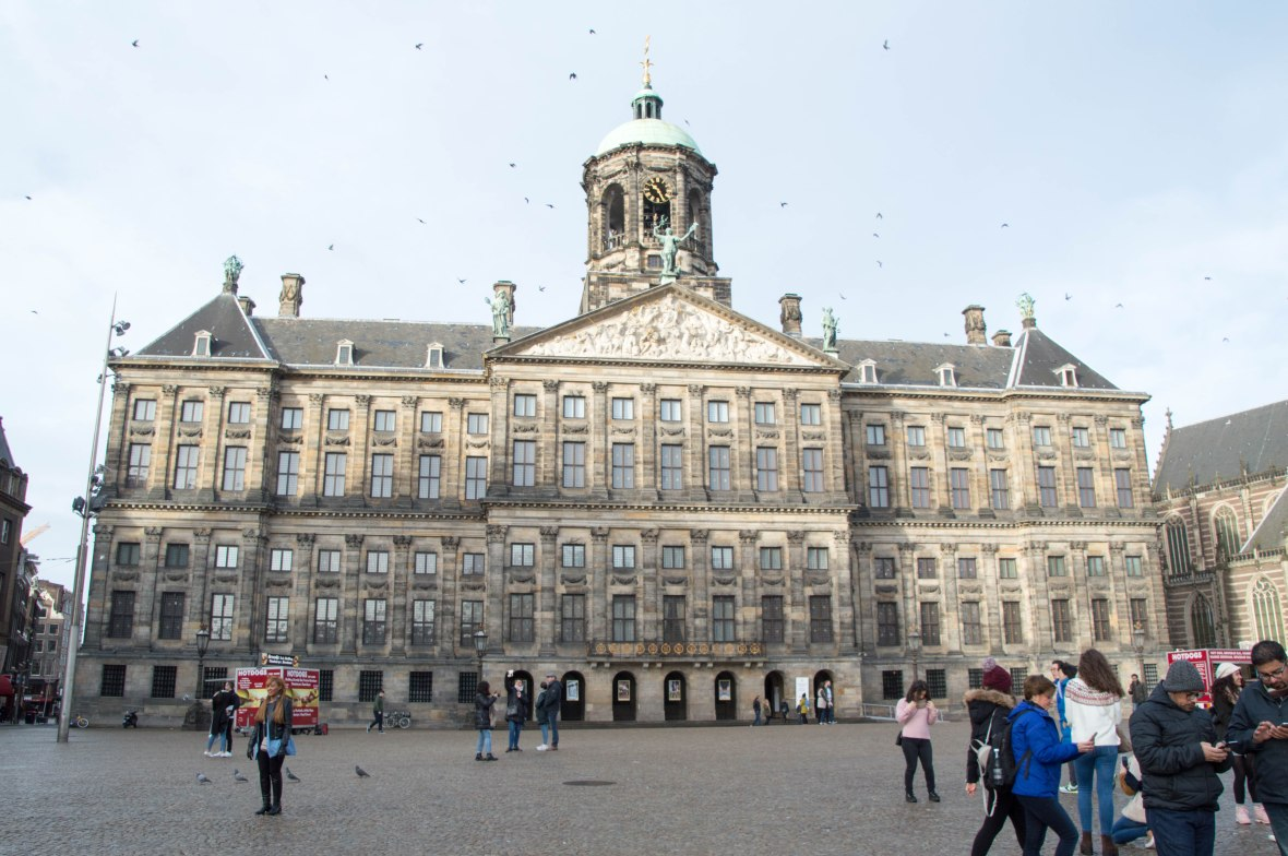 Royal Palace, Dam Square, Amsterdam, Netherlands