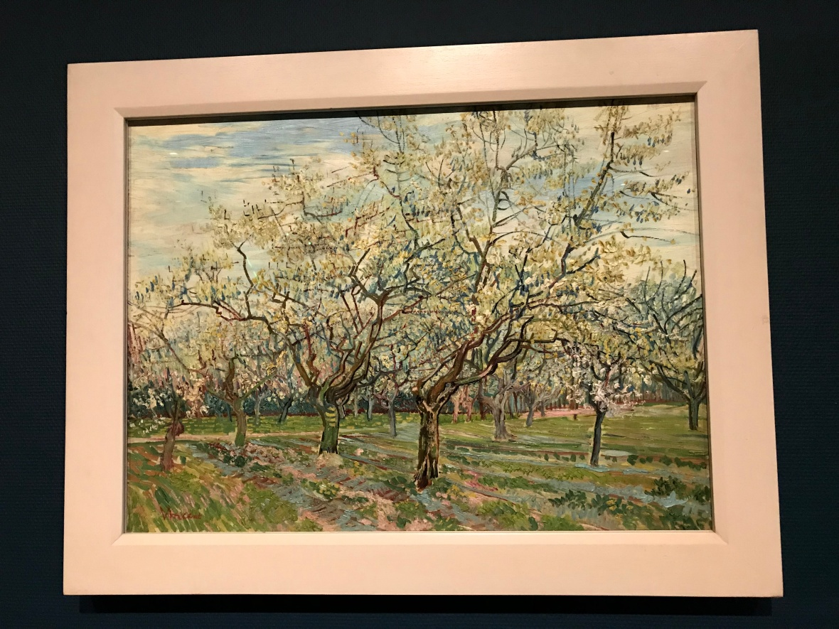 The White Orchard, Van Gogh Museum, Amsterdam, Netherlands