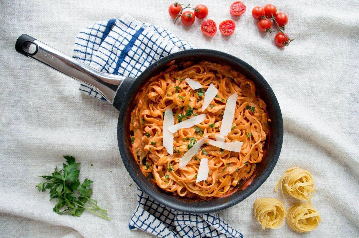 Creamy Tomato Sauce Blog - Kay's Kitchen