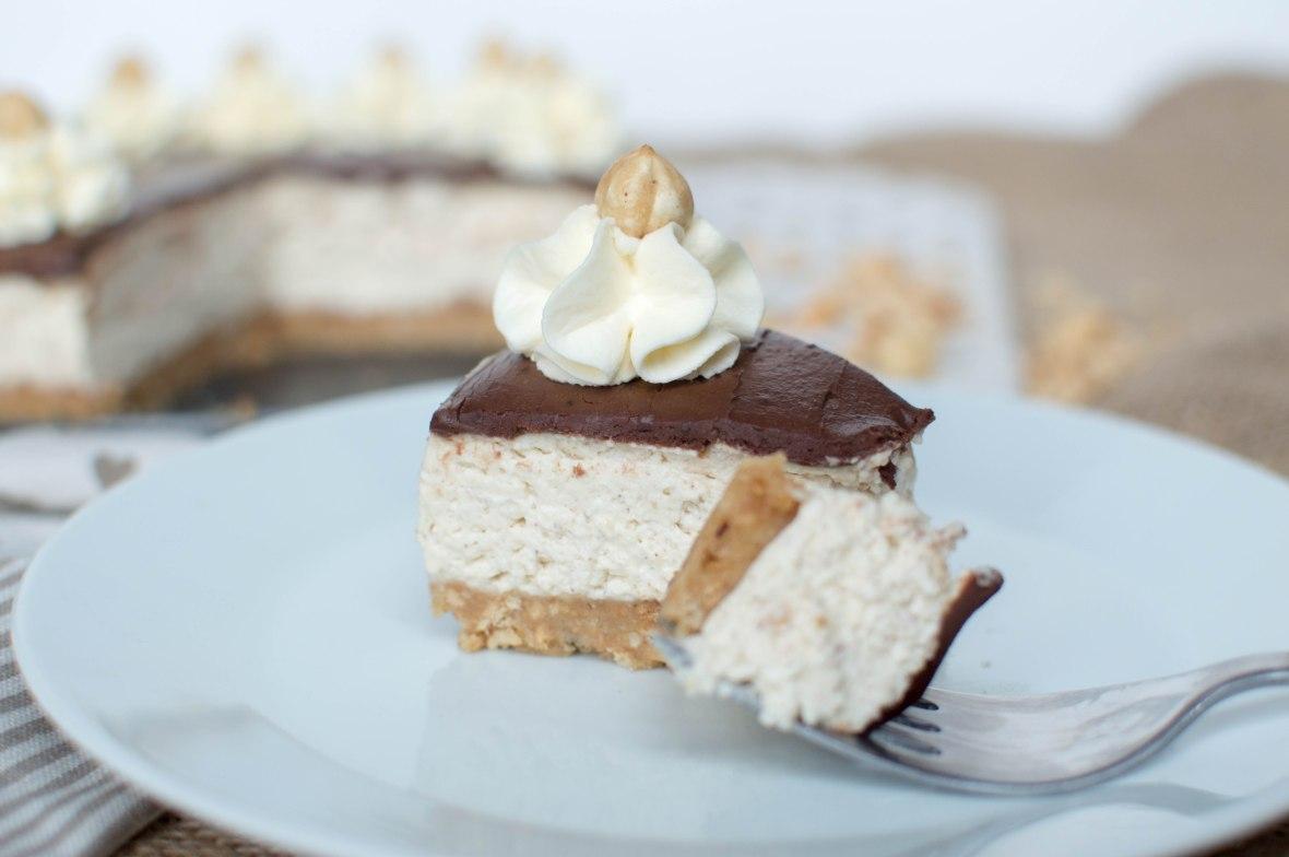Chocolate, Hazelnut and Tonka Bean Cheesecake Recipe - Kay's Kitchen