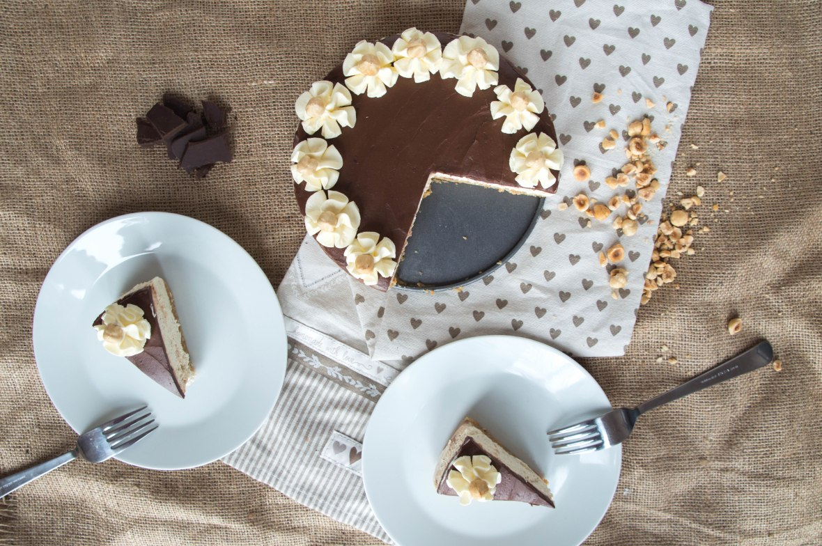Chocolate, Tonka Bean And Hazelnut Cheesecake - Kay's Kitchen