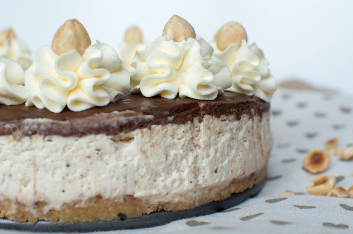 Hazelnut, Chocolate and Tonka Bean Cheesecake - Kay's Kitchen
