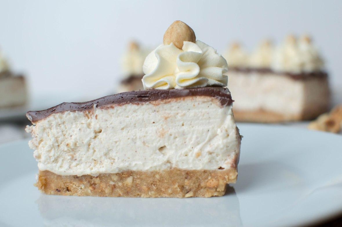 Hazelnut, Tonka Bean And Chocolate Cheesecake - Kay's Kitchen