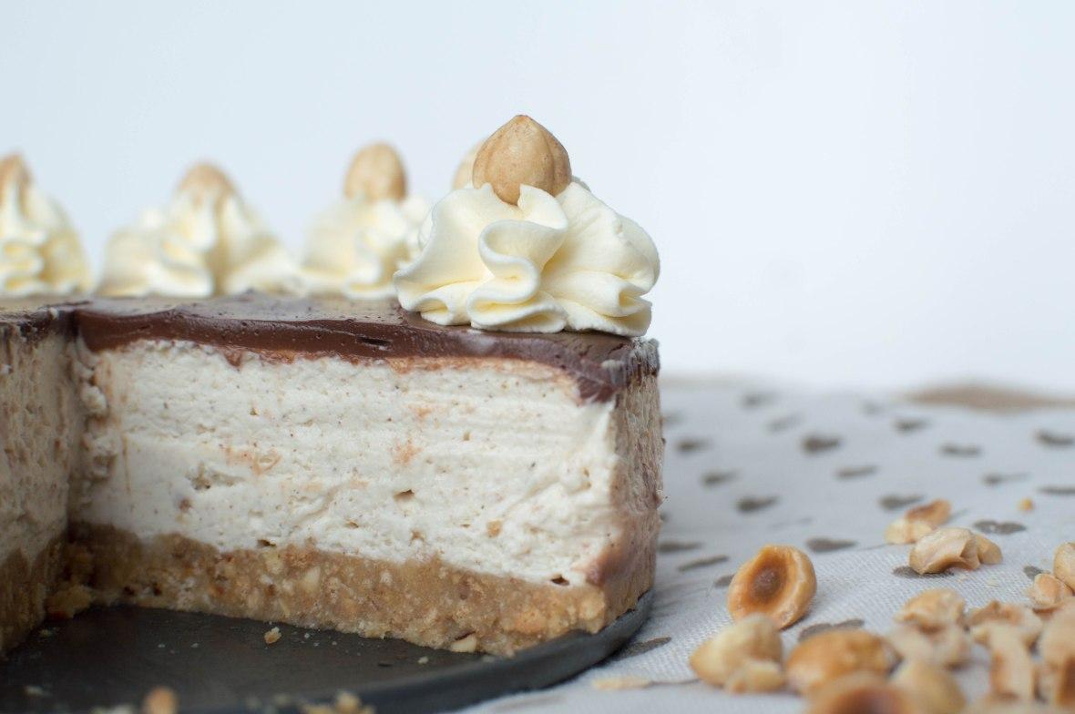 Tonka Bean, Chocolate and Hazelnut Cheesecake - Kay's Kitchen