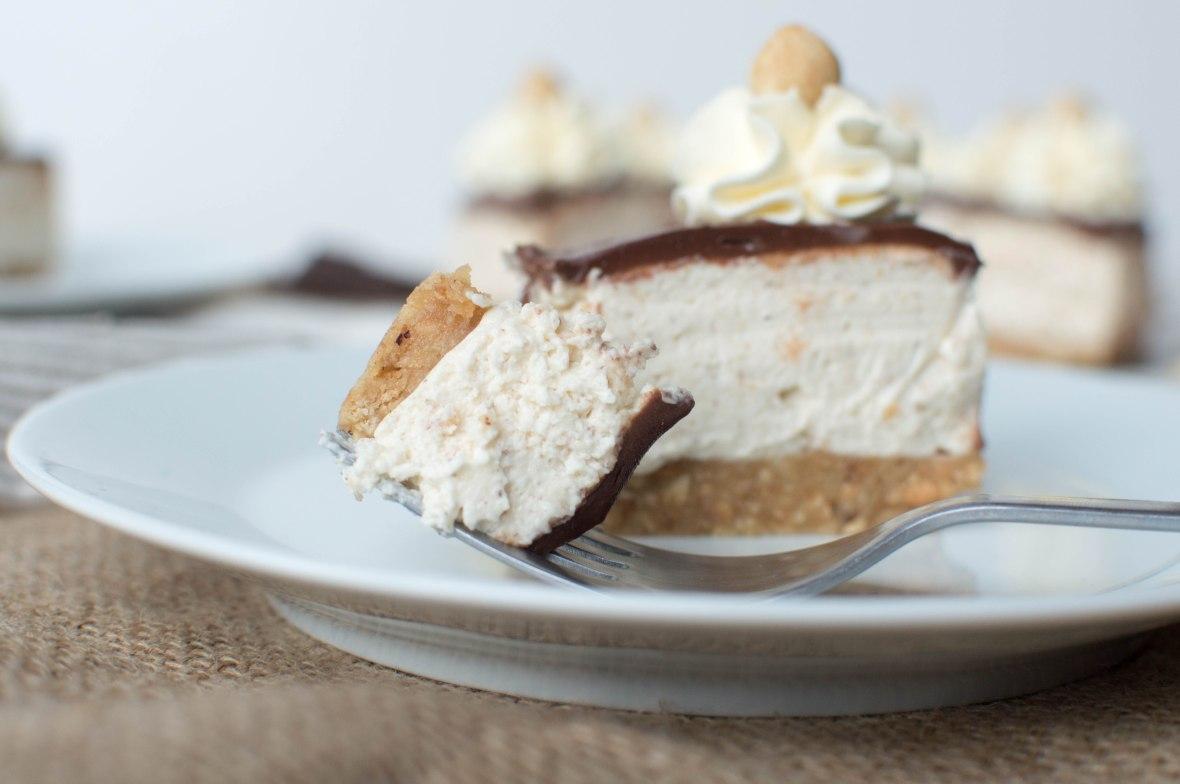 Tonka Bean, Hazelnut and Chocolate Cheesecake - Kay's Kitchen