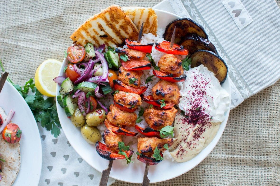 Turkish Chicken Kebab Skewers - Kay's Kitchen