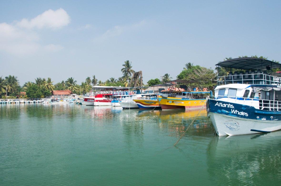 Boats, Mirissa, Sri Lanka