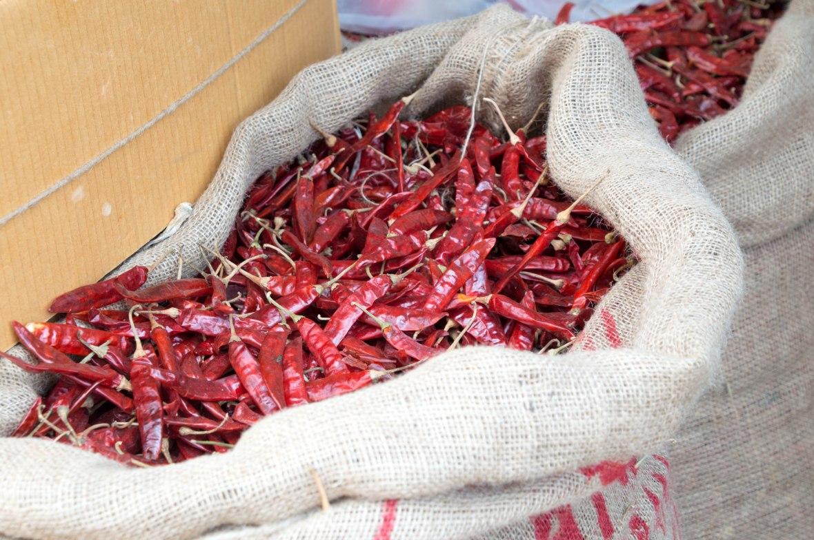 Dried Chilli, Colombo, Sri Lanka