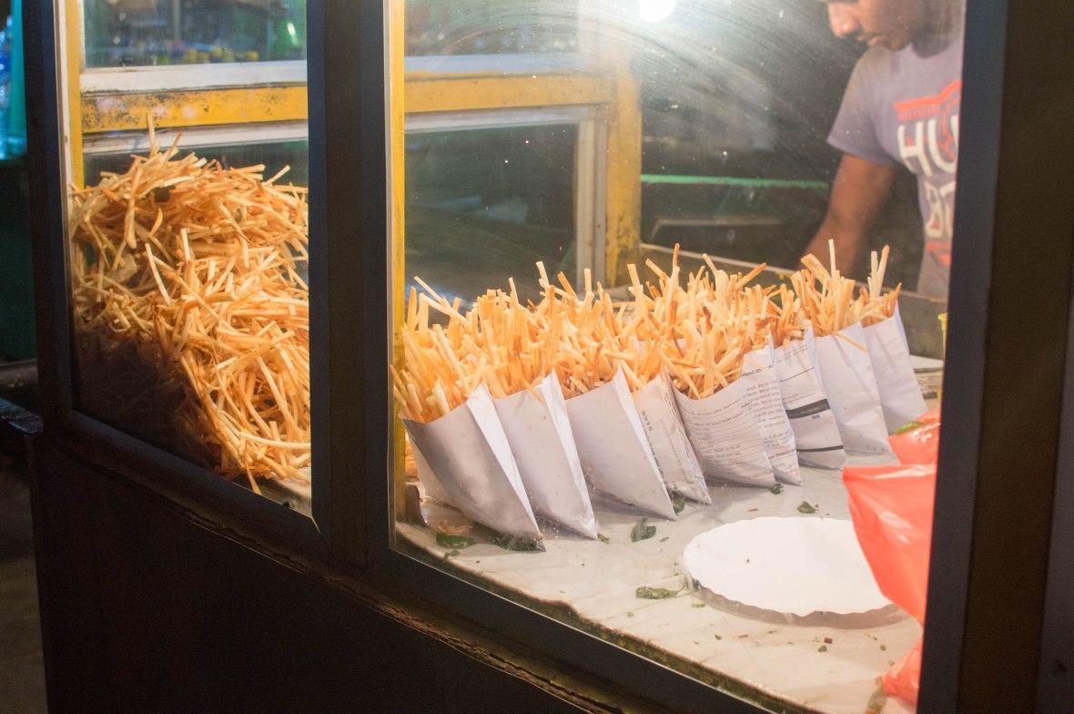 Fried Potato Snacks, Galle Face, Colombo, Sri Lanka