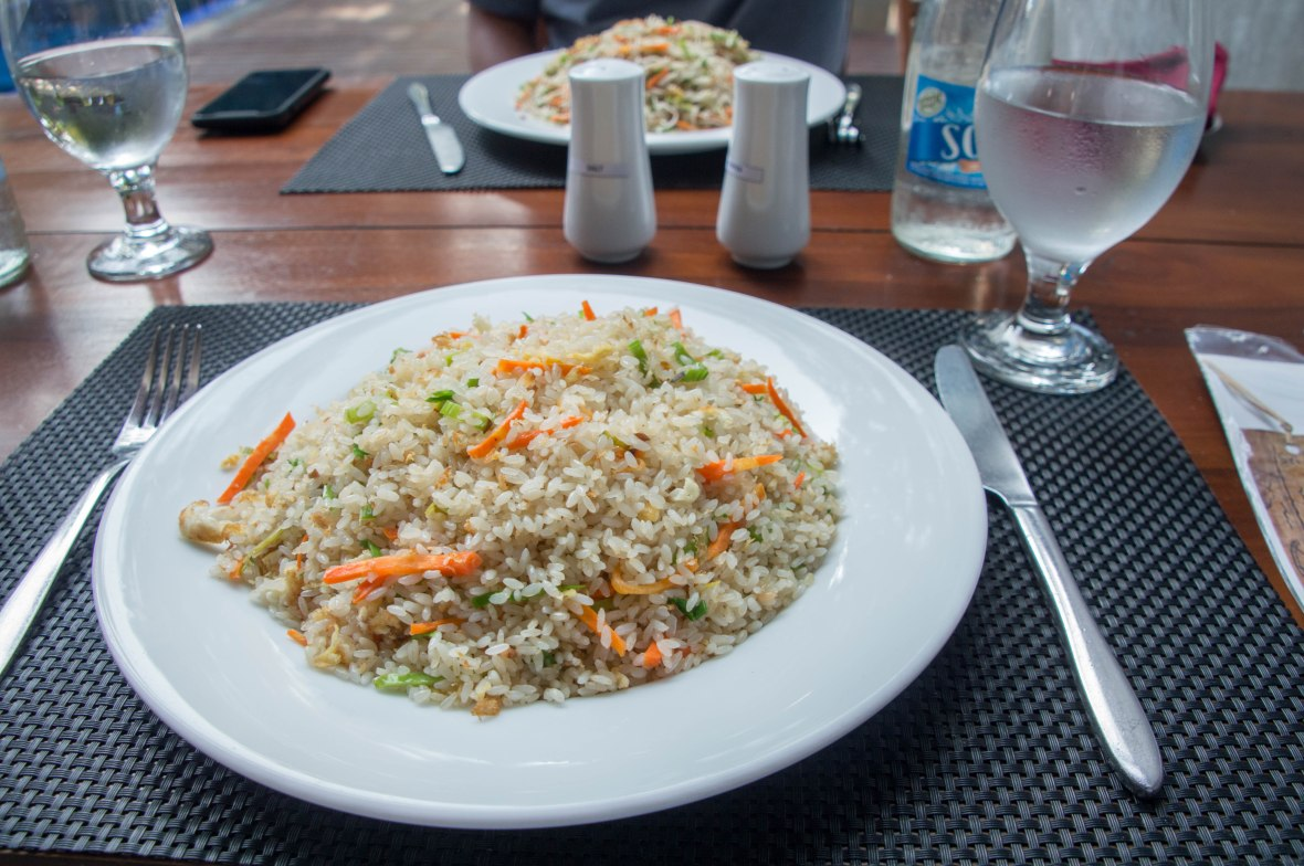 Fried Rice, Elephant Trail Hotel, Udawalawe, Sri Lanka