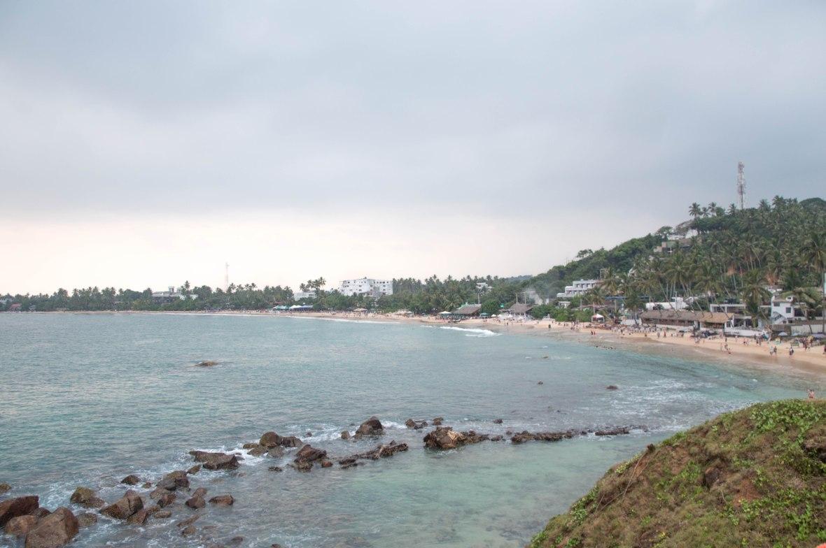 Looking Over Mirissa Beach, Sri Lanka