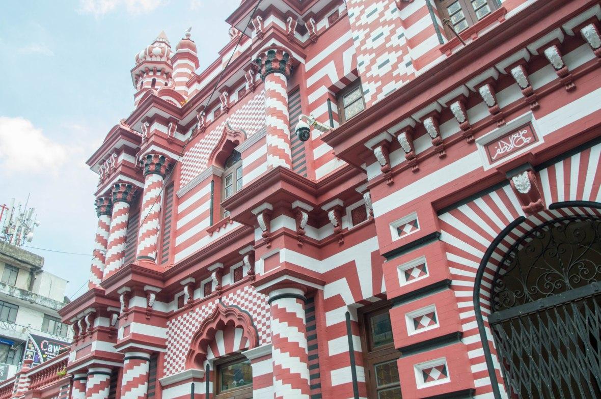 Red Masjid, Colombo, Sri Lanka