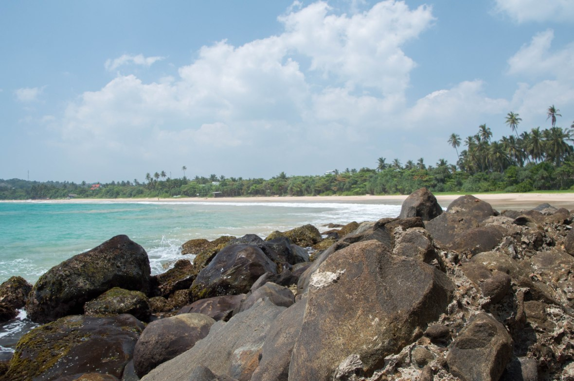 Rocks, Talalla Beach, Sri Lanka