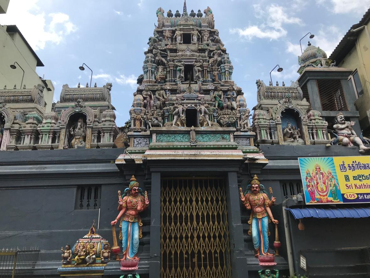 Sri Kaileswaram Temple, Colombo, Sri Lanka