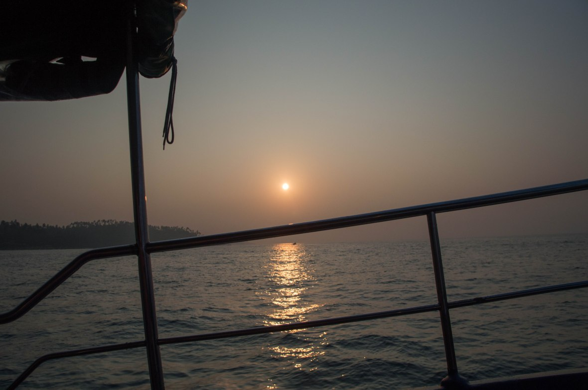 Sun Rise, Whale Watching, Mirissa, Sri Lanka