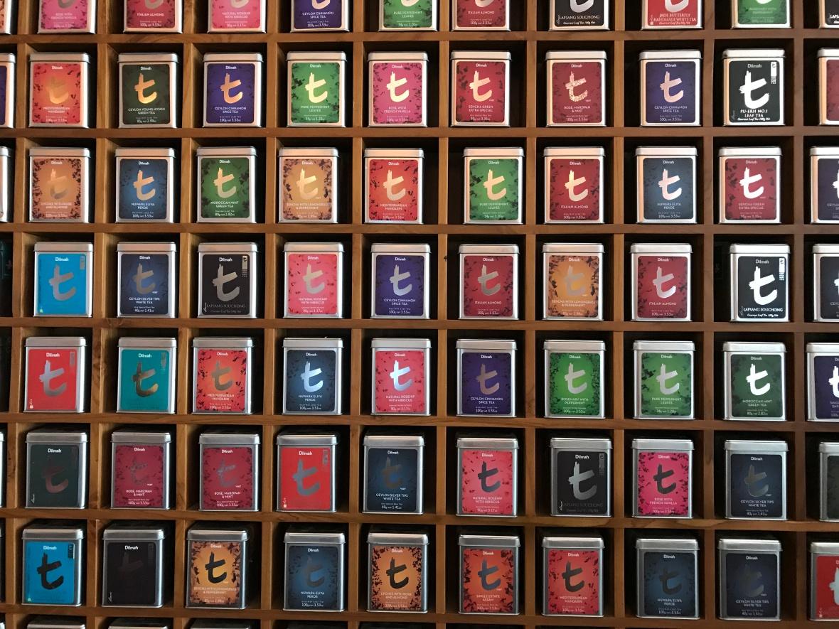 Teas, The t-Lounge by Dilmah, Colombo, Sri Lanka