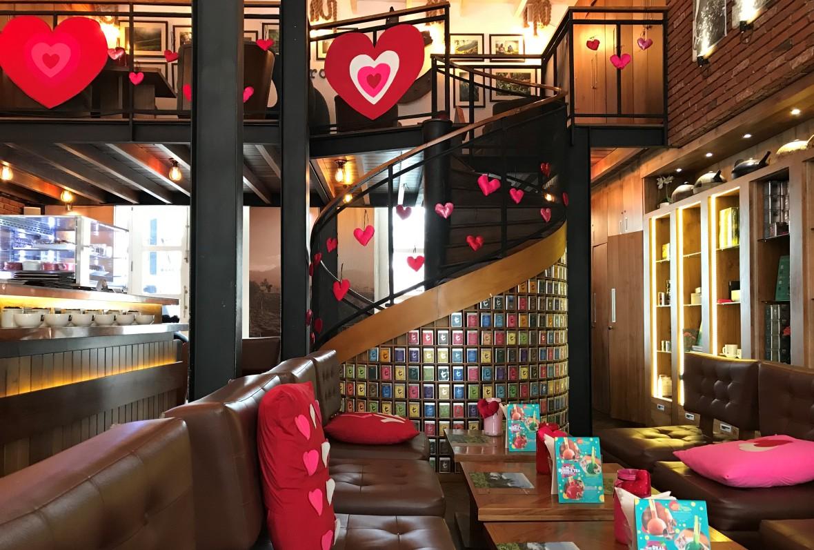 The t-Lounge by Dilmah, Colombo, Sri Lanka