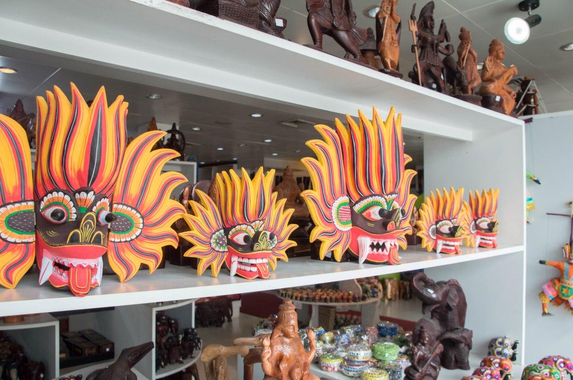 Traditional Face Masks, Colombo, Sri Lanka