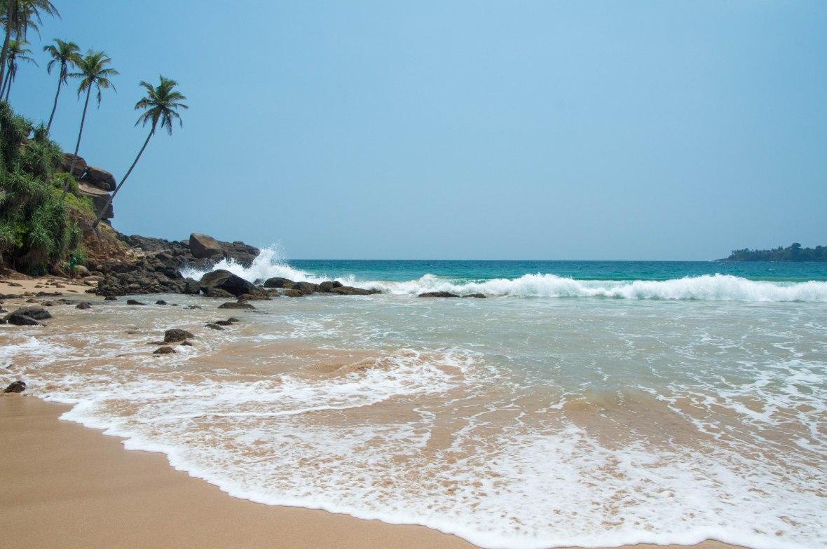 Waves Crashing At Talalla Beach, Sri Lanka