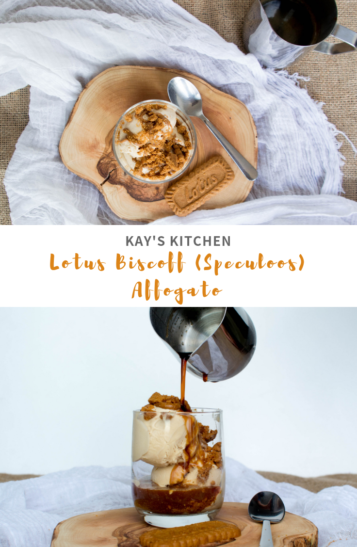 Lotus Biscoff Affogato