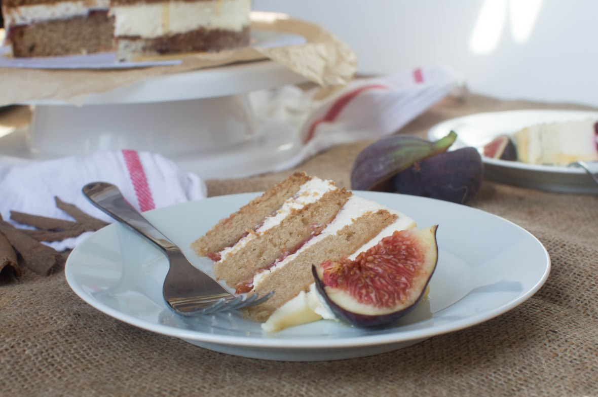 Slice Of Spiced Fig And Honey Cake - Kay's Kitchen