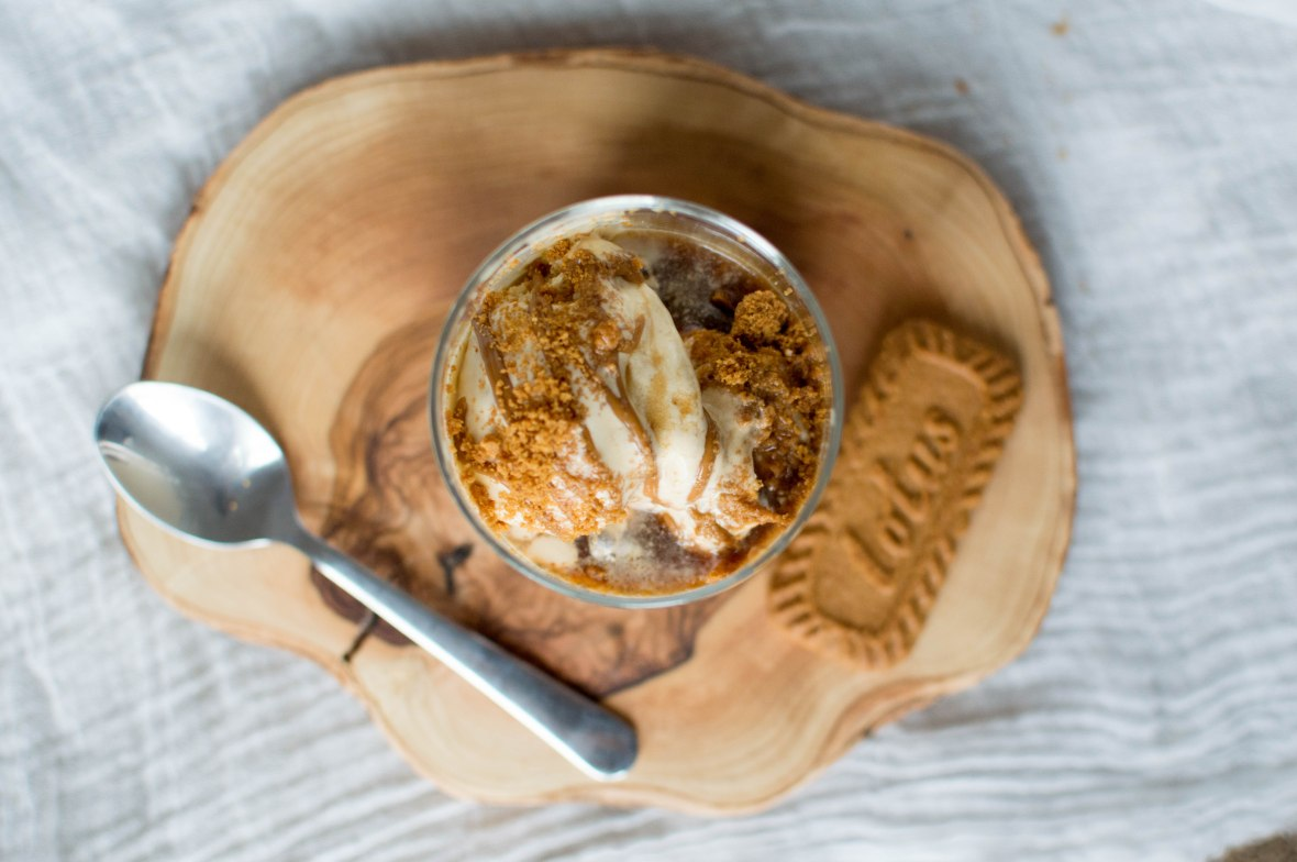 Speculaas (Lotus Biscoff) Affogato - Kay's Kitchen