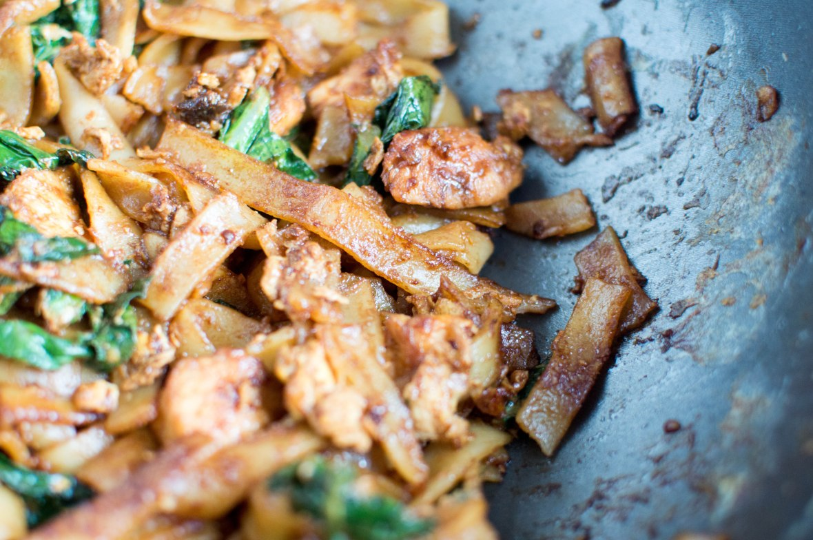 close up of chicken pad see ew - kay's kitchen