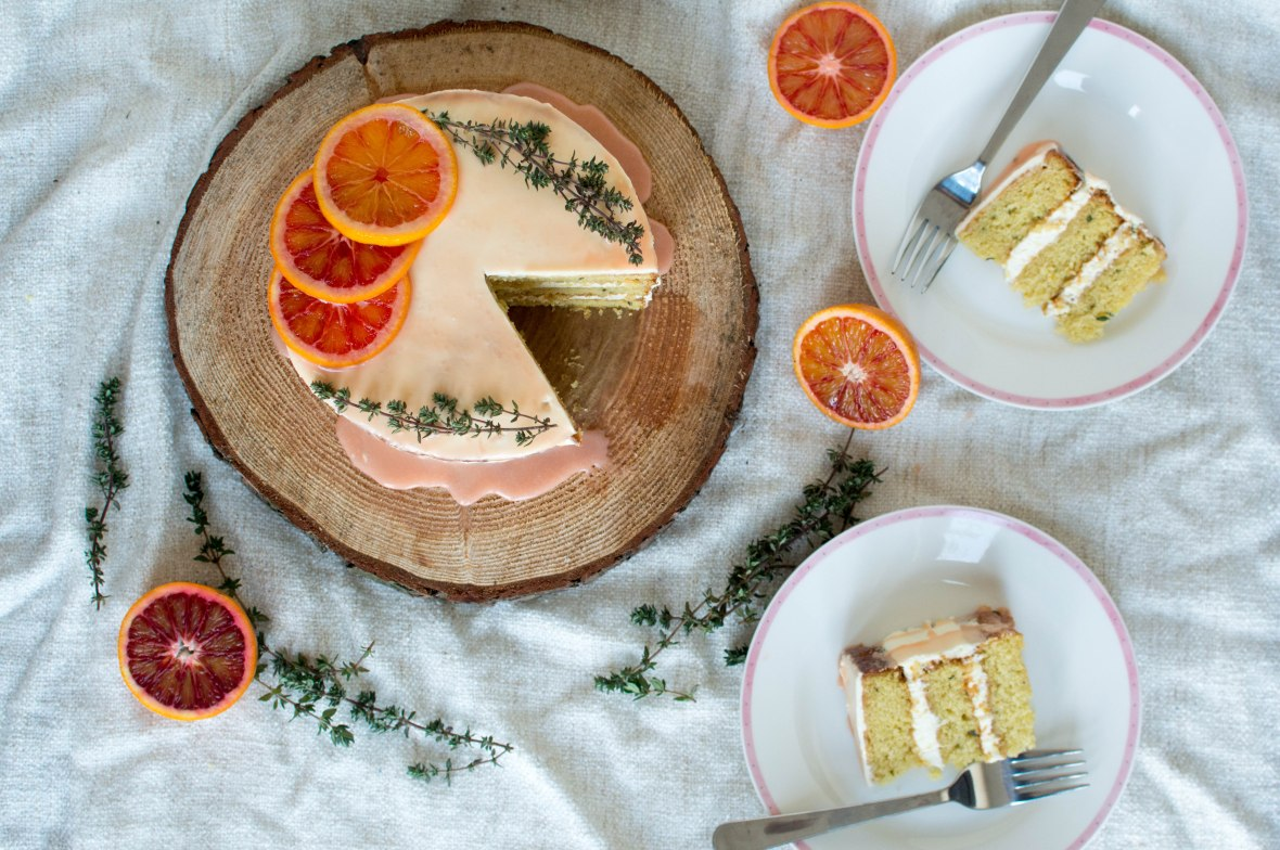 blood orange cake - kay's kitchen