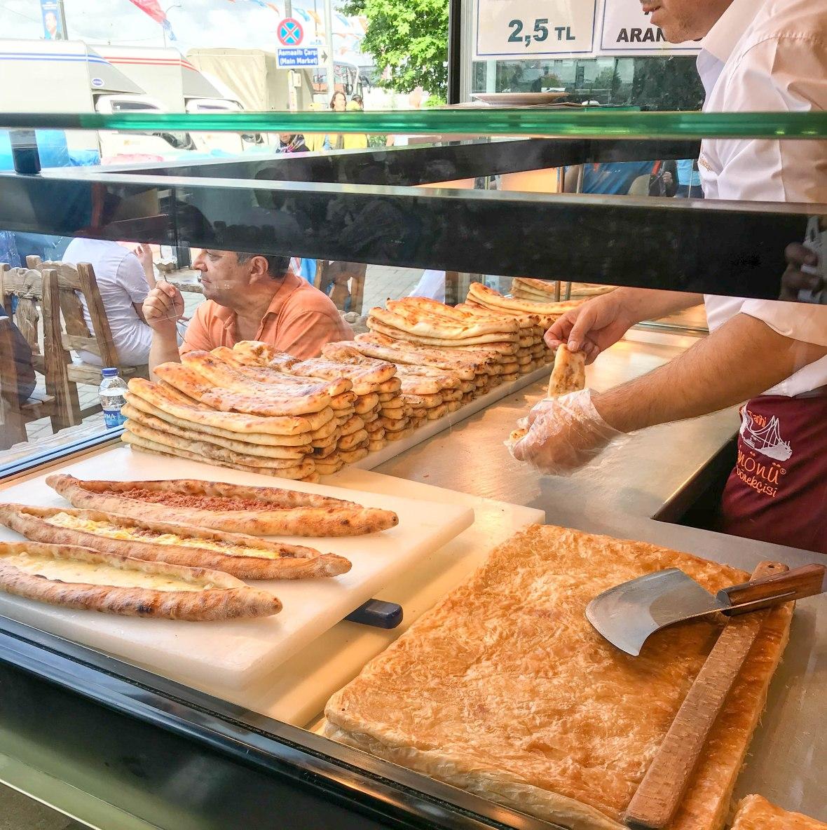 pastry shop, eminönü, istanbul, turkey