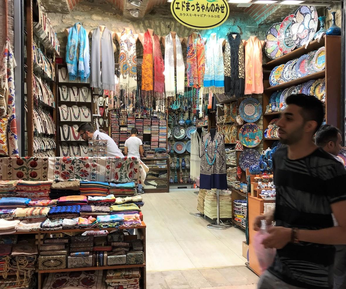 shop, spice bazaar, istanbul, turkey